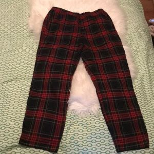 Plaid Zara pants